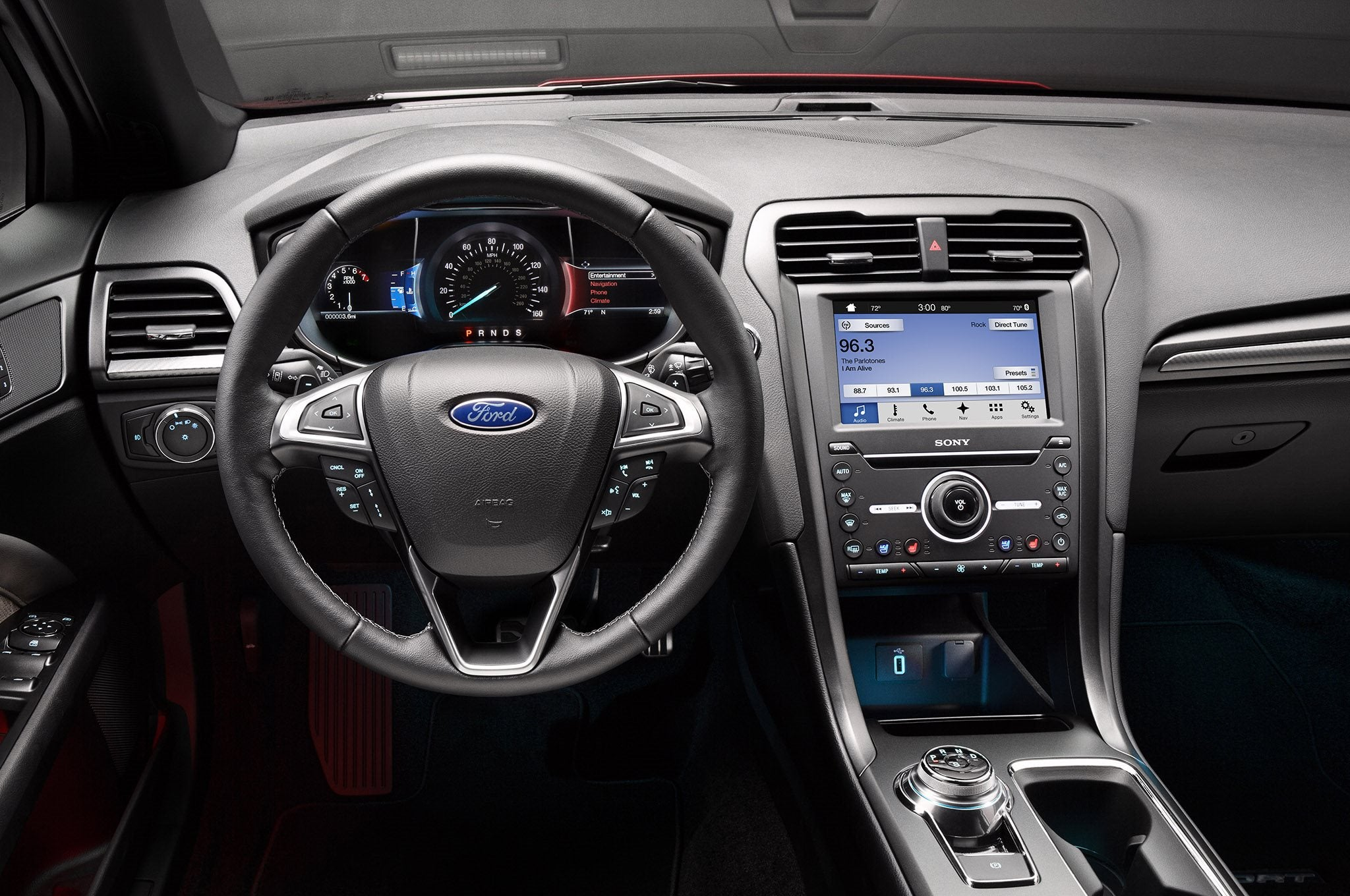 A Modern Interior The New Ford Fusion