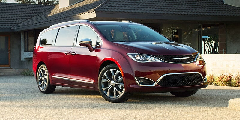 Chrysler Pacifica Van >> 2018 Chrysler Pacifica
